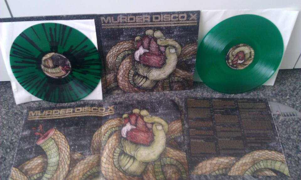 MURDER DISCO X LP, July 2012